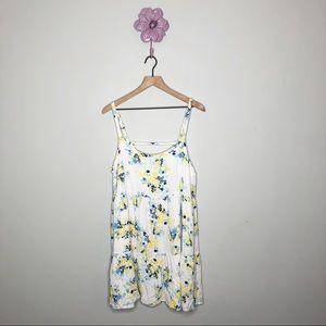 Torrid Tiered Trapeze Dress Floral Impression
